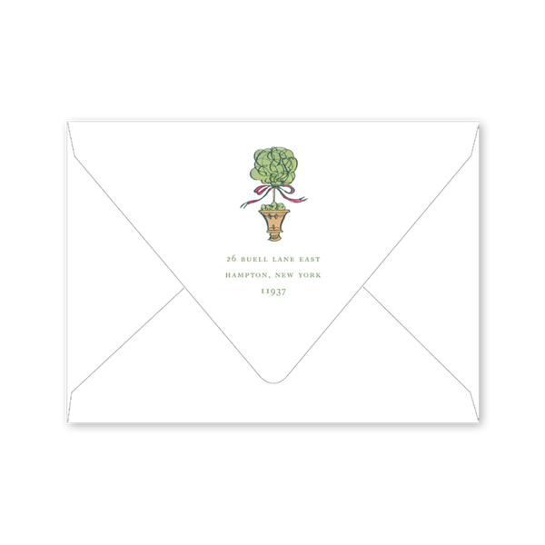 Cedar Cottage Invitation Envelopes