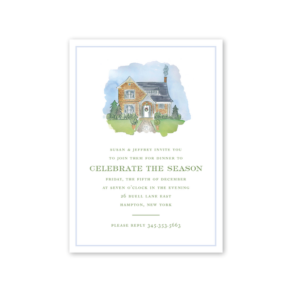 Cedar Cottage Invitation