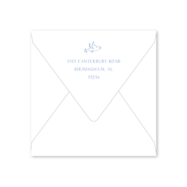 Peace on Earth Bird Envelopes