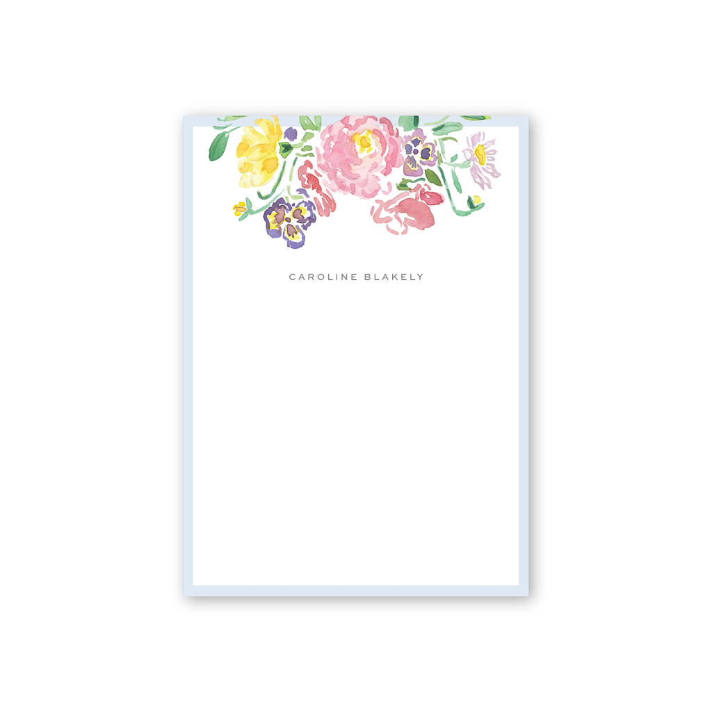 Wildflower Crest Notepad