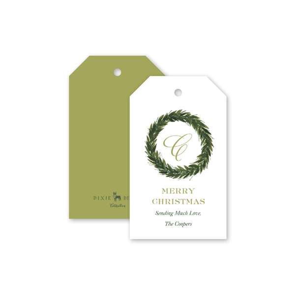 Christmas Greenery Gift Tags