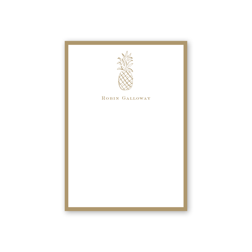 Diamond Pineapple Notepad