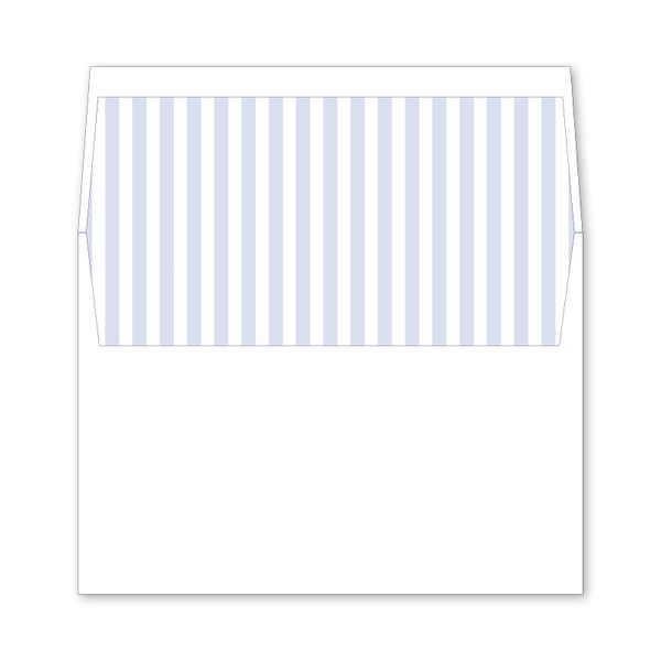 Hydrangea Wedding Invitation Envelope Liner