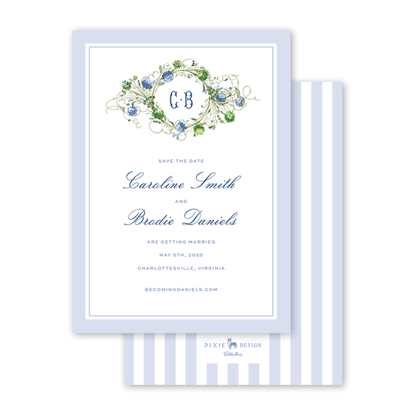 Hydrangea Save The Date