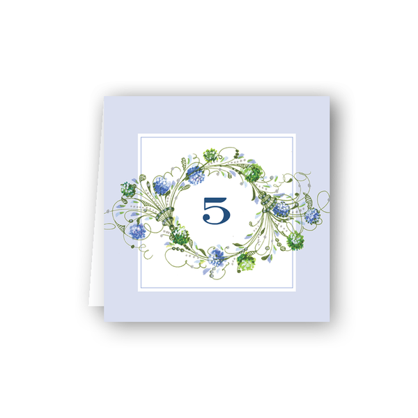 Hydrangea Table Numbers