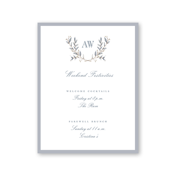 Laurel Details Cards