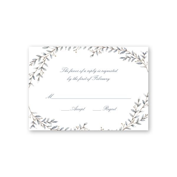 Laurel Reply Card
