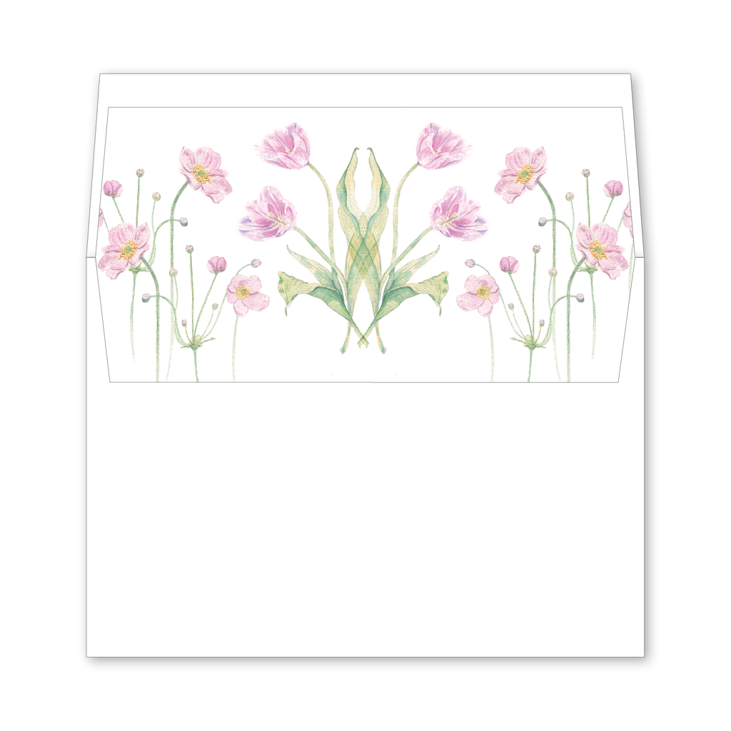 Dumbarton Wedding Invitation Envelope Liner