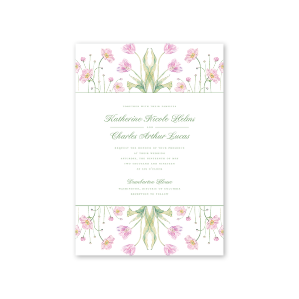 Dumbarton Wedding Invitation