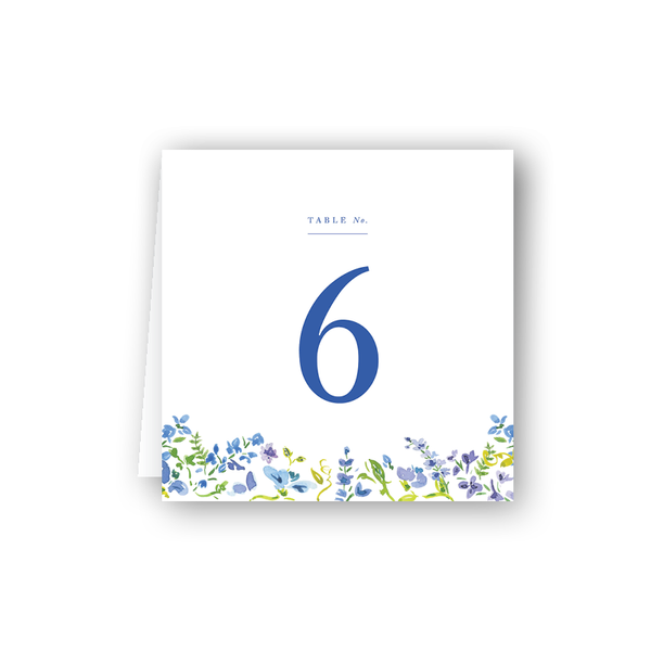 Hampton Floral Table Numbers