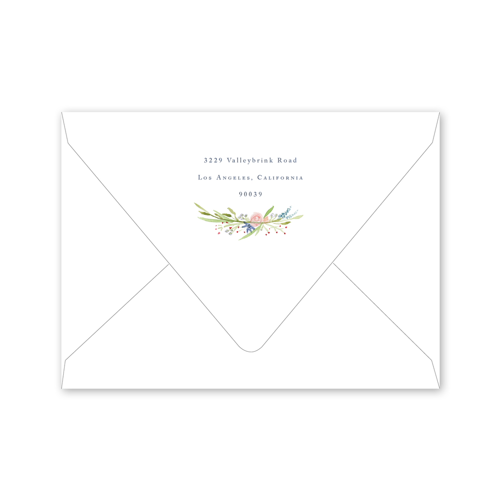 Eden Save the Date Envelopes
