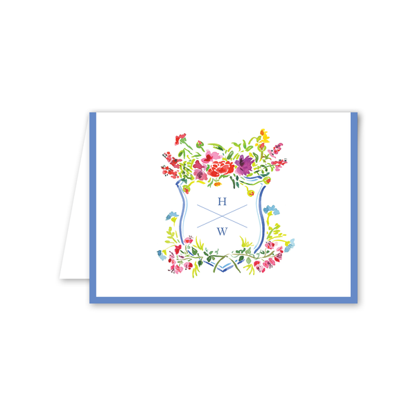Bougainvillea Folded Notecard