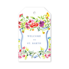 Bougainvillea Welcome Gift Tags