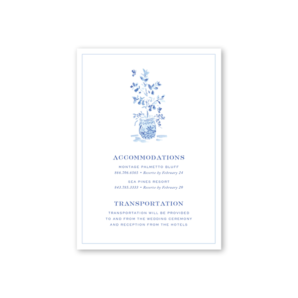Heron Accommodations Cards