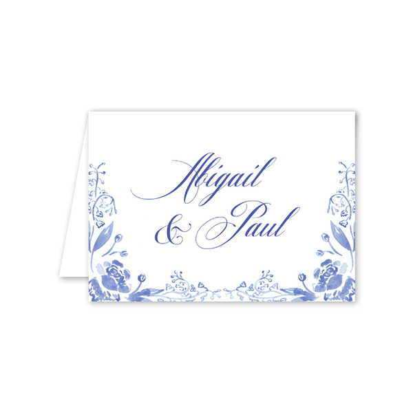 Rosalie Border Folded Notecard