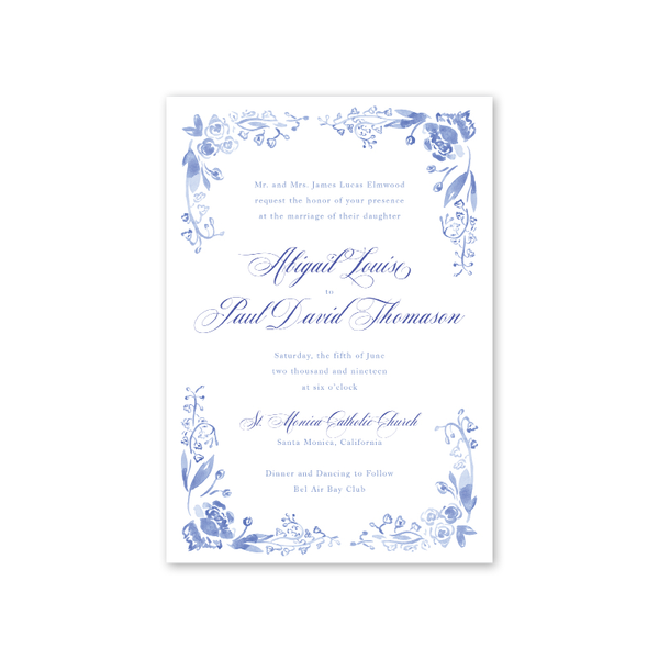 Rosalie Wedding Invitation