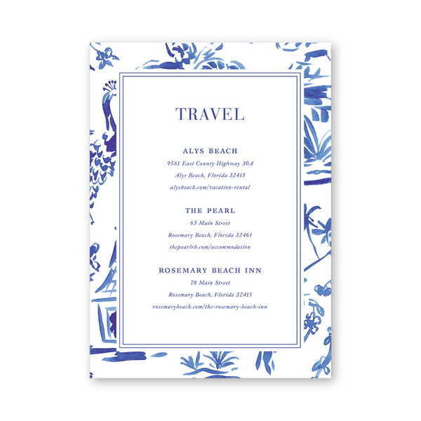 Toile Details Card
