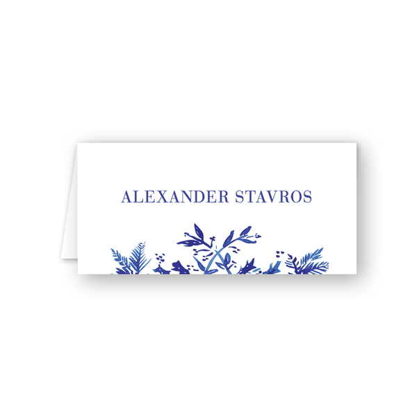 Toile Place Card
