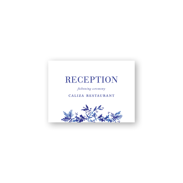 Toile Reception Cards