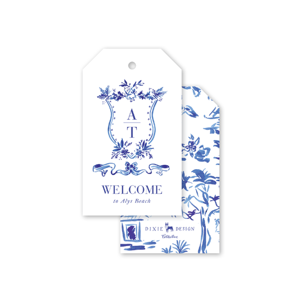 Toile Gift Tags