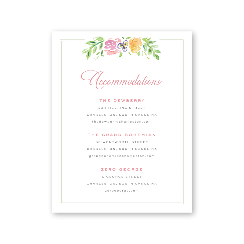 Wildflower Details Card