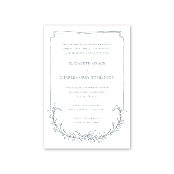 Cypress Wedding Invitation