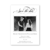 Classic Cross Save The Date with Photo