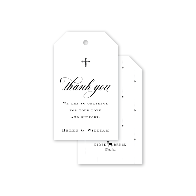 Classic Cross Gift Tags