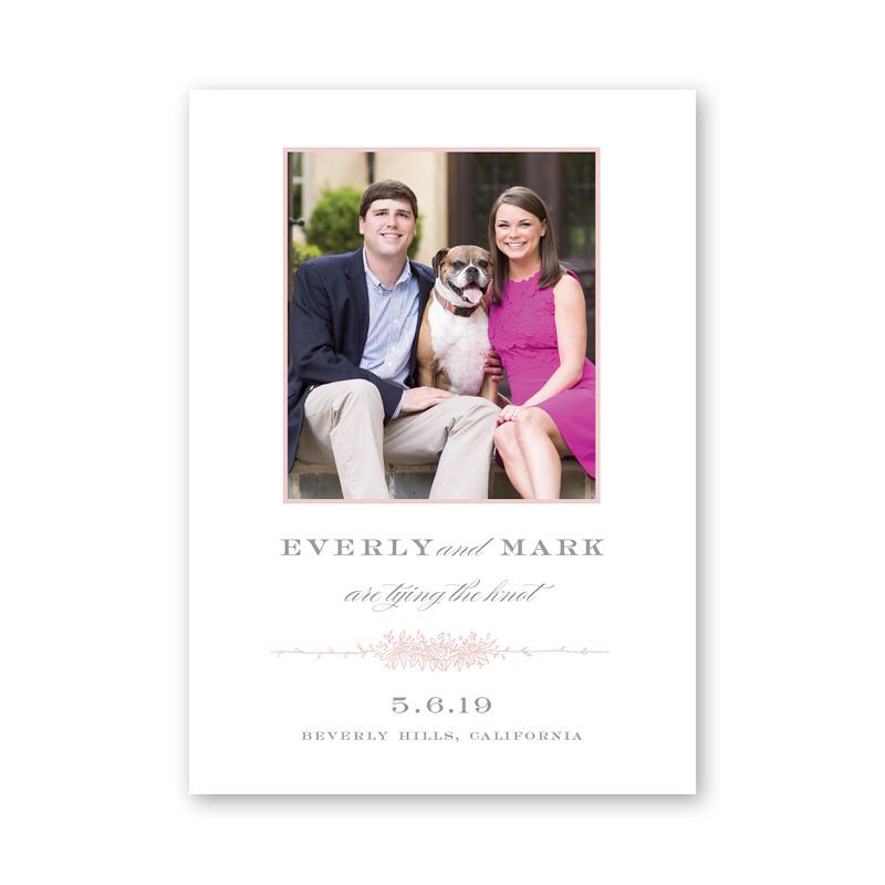 Beverly Save The Date with Photo