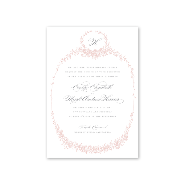 Beverly Wedding Invitation