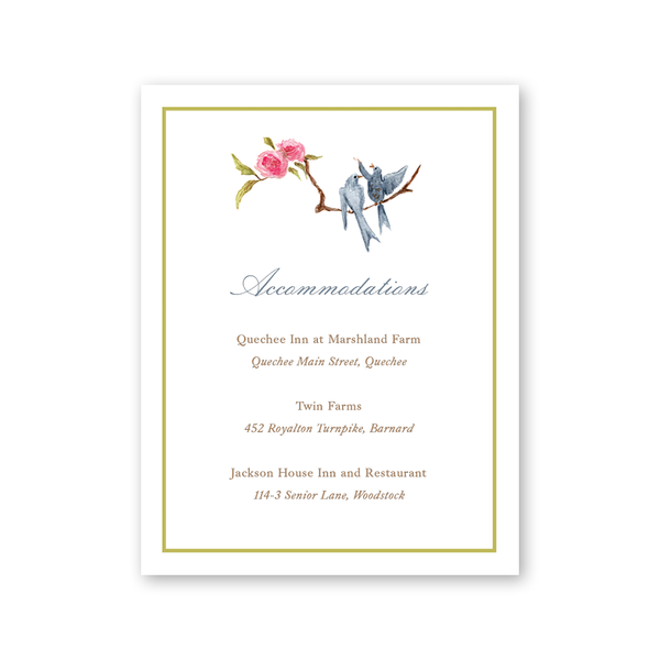 Songbird Details Card