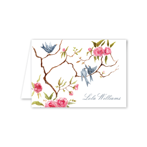 Songbird Folded Notecard