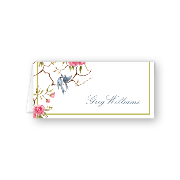 Songbird Place Card