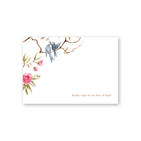 Songbird Reply Card