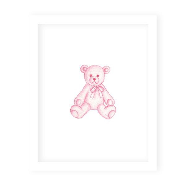Sugar and Spice Bear Art Print