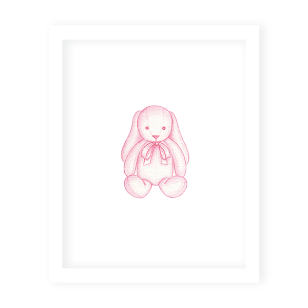 Sugar and Spice Bunny Art Print