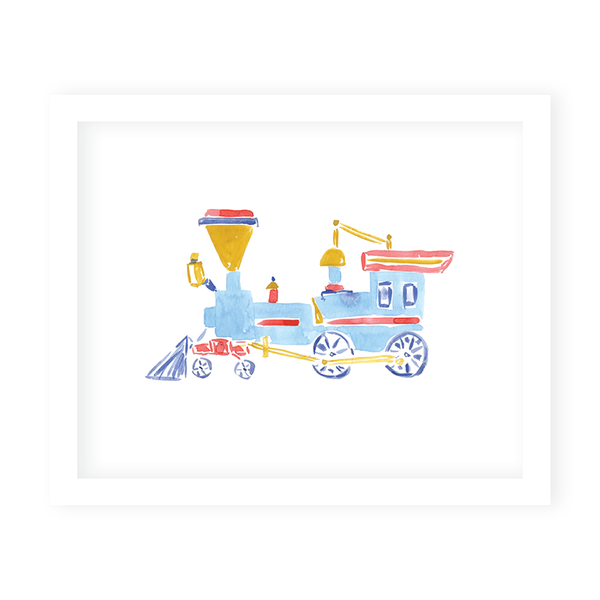 Train II Art Print
