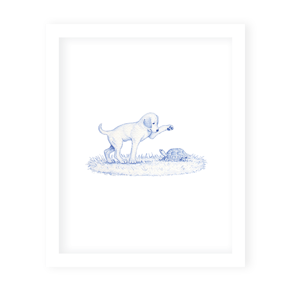 Snips and Snails Turtle Art Print
