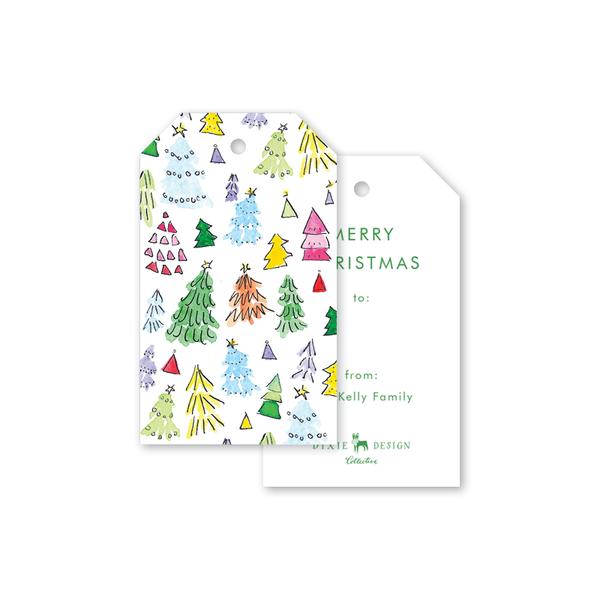 Happy Trees Gift Tags