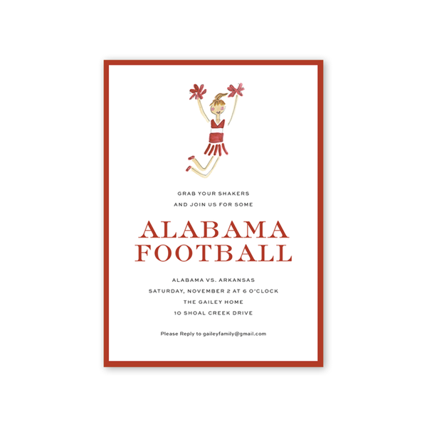 Alabama Football Shaker