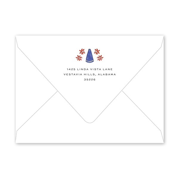 Football Cheer Hooray Birthday Envelopes