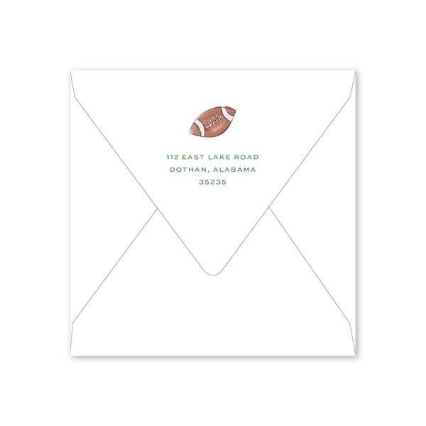 Football Goal Post Envelopes