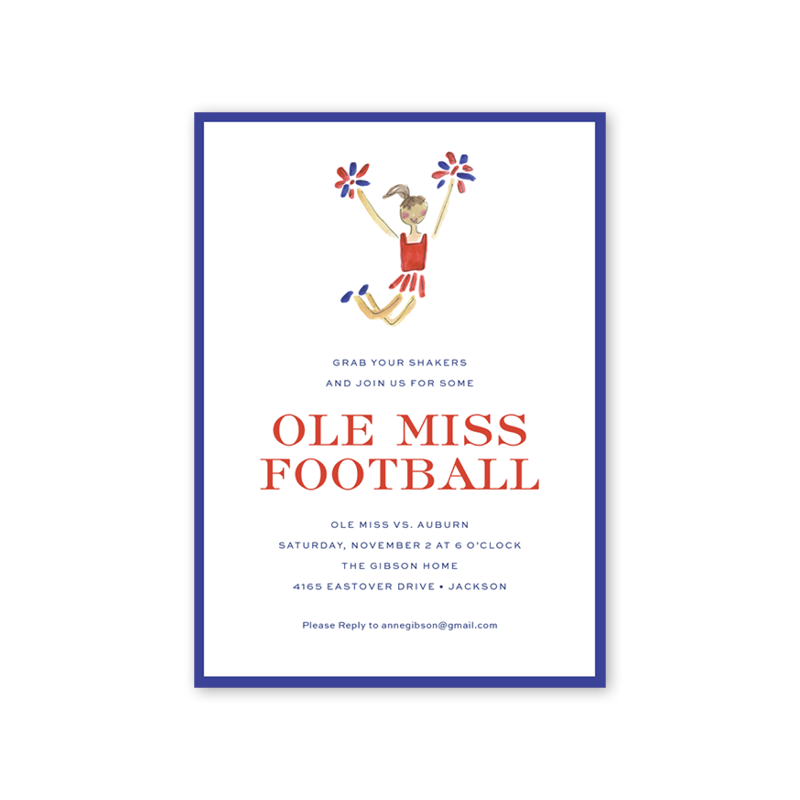 Ole Miss Football Shaker