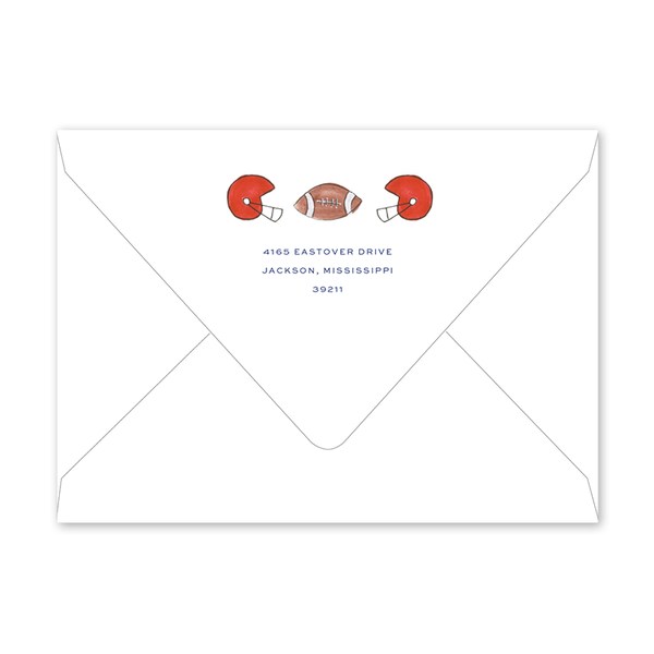 Ole Miss Football Shaker Envelopes