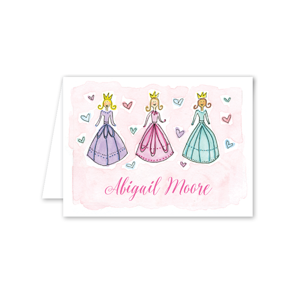 Princess Notecard