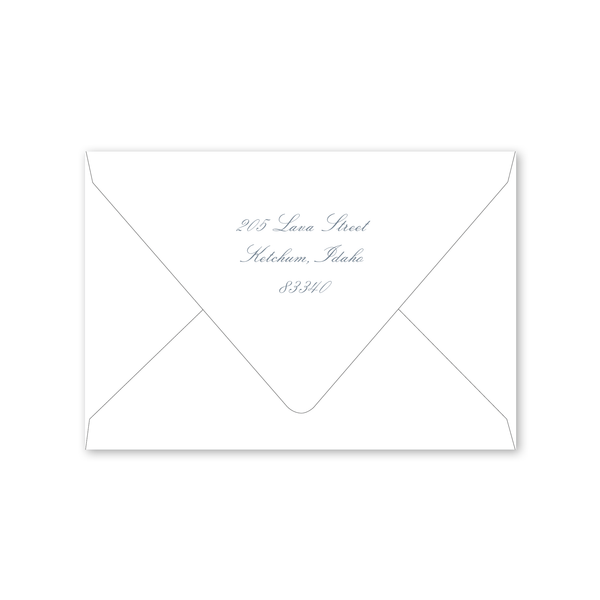Laurel Folded Notecard Envelopes