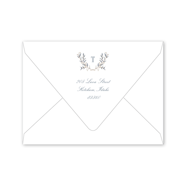 Laurel Save the Date Envelopes