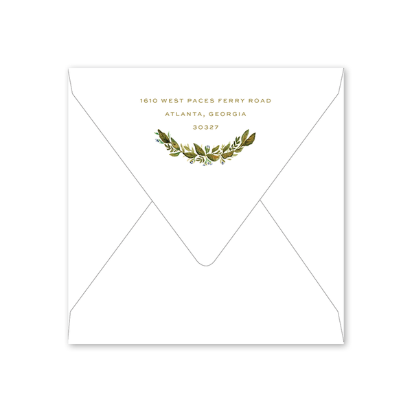 Botanic Save the Date Envelopes