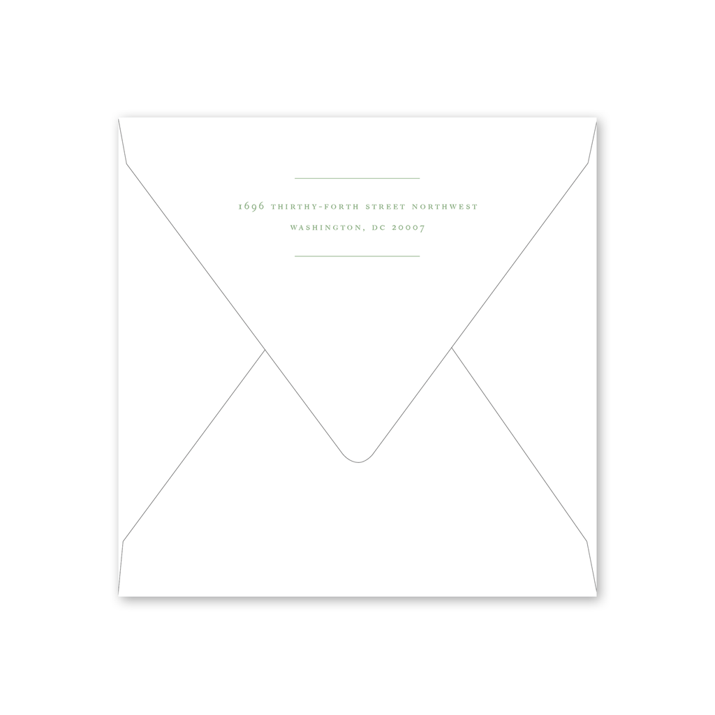 Dumbarton Save the Date Envelopes