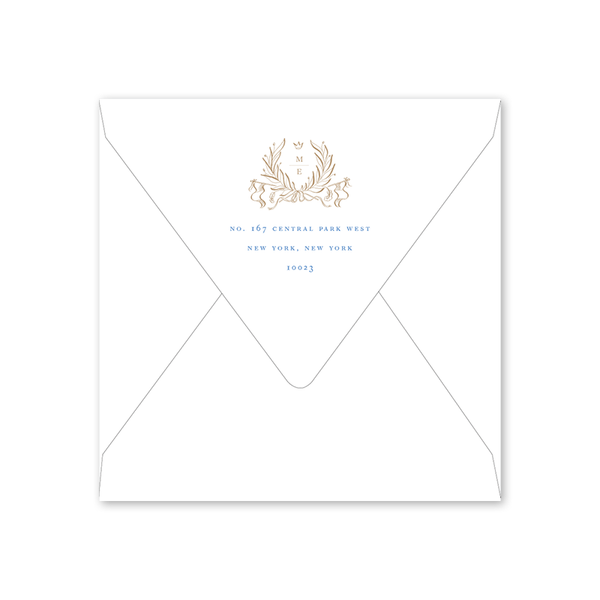 Campagne Chateau Save the Date Envelopes